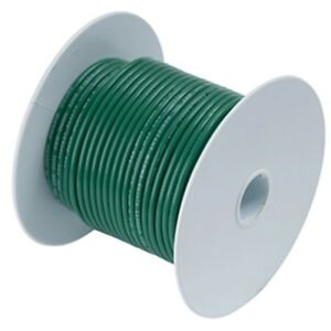 Ancor Green 10 Awg Tinned Copper Wire 1 000