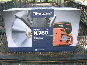 Husqvarna K760 Concrete Saw new