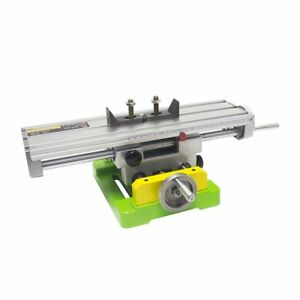 Worktable Compound Drilling Slide Table Adjustment X y Dual rail Multifunction
