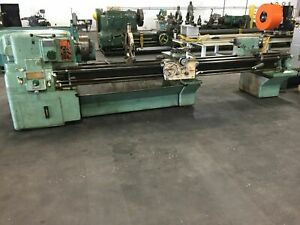 Monarch Lathe 1610 20 x126 13tx126