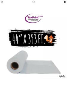 Texprint Thermo Tack Sublimation Paper 44 X 393 By Beaver Paper