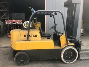 Hyster Model S150a Forklift 15 000lb 3 Stage Mast