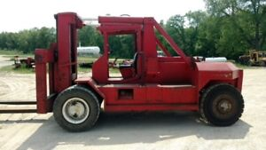 Bristol 80 000lb Riggers Forklift With Hydraulic Boom