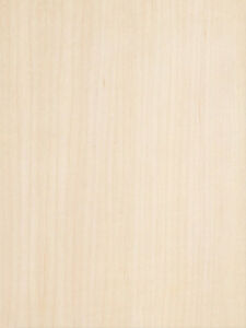 Maple White Wood Veneer Quartered Cut 10 Mil Paper Backer 2 X 8 24 X 96