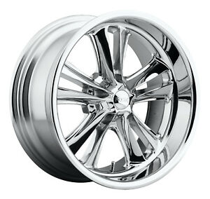 Cpp Foose F097 Knuckle Wheels 18x8 Fits Ford Mustang Gt Shelby