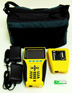 Network Lan Ethernet Data Cable Tester Test um Jdsu Validator Nt900