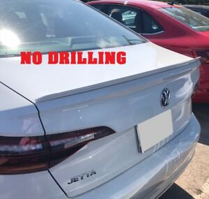 For 2019 2020 Vw Volkswagen Jetta Painted Rear Lip Spoiler Made In Usa No Drill