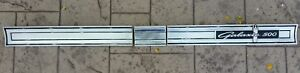 1964 Ford Galaxie Rear Tail Light Panel Molding Trim