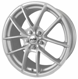 18 Silver Machine Wheel Fits Ford Jaguar Lincoln Land Rover Volvo Qty 4