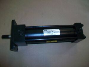 Parker Hydraulic Cylinder 02 00j3lct14a 6 000 1050psi 2 X 6 New