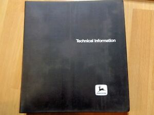 John Deere 2240 Tractor Technical Service Manual In Binder Tm4301