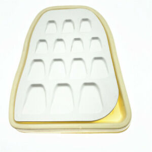 Dental Lab Microporous Porcelain Ceramic Mixing Watering Plate Wet Tray Tool