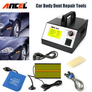 Ancel Pdr 007 Paintless Dent Repair Tool Hotbox Car Body Removal Puller Full Set