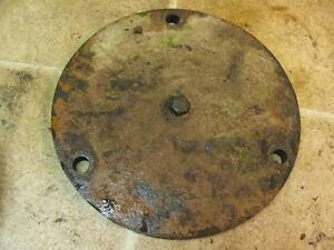 Minneapolis Moline Mm M670 Gas Tractor Disc Brake Cover Plate 10a8345