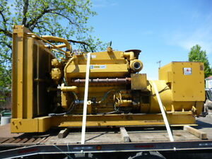 Caterpillar 500kw Cat D348 Standby Generator Diesel Running Take Out 3 Phase 87
