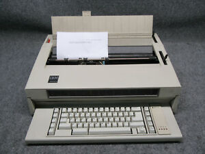 Vintage Ibm Wheelwriter 3 Electronic Typewriter tested Working
