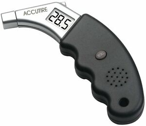 Accurate Lcd Display Grip Digital Tire Pressure Gauge 5 To 99 Psi Auto Shut New