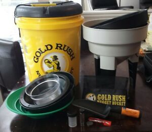 Gold Rush Nugget Bucket Gold Panning And Prospecting Kit Wow Cheap