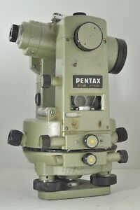 Pentax Gt 4b Surveying Sight Theodolite W Case