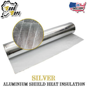 House Roof Wall Aluminum Foil Heat Insulation Reflective Wrap Radiant Barrier