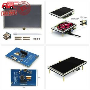 Juvtmall Tft Lcd Display 5 Inch 800times480 Touch Screen Monitor Hdmi Module W