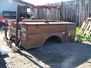 Used Utility Truck Bed 8