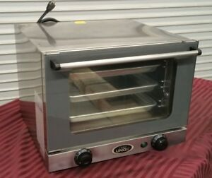 Mini Counter Top 1 4 Sheet Electric Convection Oven Cadco Ov250 2669 Commercial