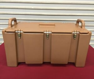 Insulated Food Storage Transport Carrier Tan Cambro Mpc110 5932 Commercial