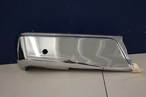 2015 2016 Ford F150 Left Side Rear Bumper End Chrome With Sensor Hole