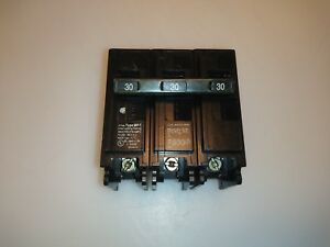 Murray Crouse Hinds Mp330 3 Pole 30 Amp Circuit Breaker Type Mp t
