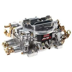 Edelbrock 1905 650 Cfm Avs2 Series Non Egr Carburetor With Manual Choke Satin