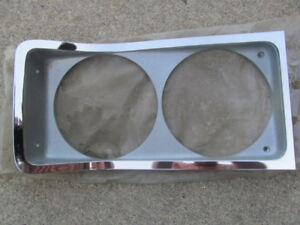 1968 Amc Rambler Rebel Nos Right Headlight Bezel