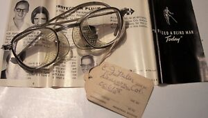 Vintage Bausch Lomb Bl Side Shield Unused Safety Glasses Usa 24 44 case Goggles