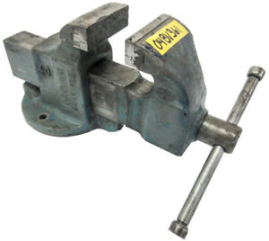 Morgan Milwaukee 4 General Purpose Bench Vise 6 1 2 Capacity Model 40