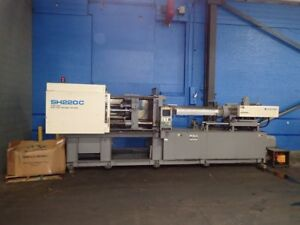 1999 Sumitomo Sh220c 240 Ton Injection Molding Machine 20oz