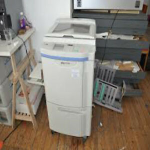Riso Rp3700 Duplicator W Supplies