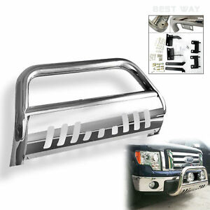 1999 2007 Chevy Silverado classic 2500ld Polished 3 Grille Guard Bull Bar Ss