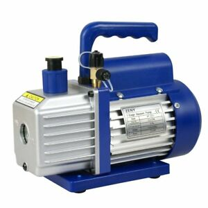 Zeny 3 5cfm Single stage 5 Pa Rotary Vane Economy Vacuum Pump 3 Cfm 1 4hp Air