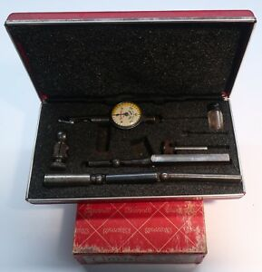 Starrett Dial Indicator Gauge Last Word No 711fs In Box