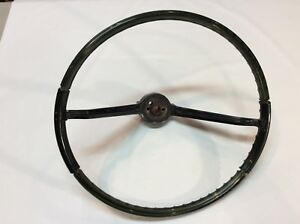 1965 1966 Pontiac Catalina Bonneville Translucent Steering Wheel Original