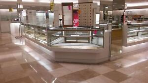 Glass Case Display Cases Retail Store Fixtures Great Condition