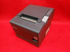 Epson Tm t88v Pos Thermal Printer usb Serial Interface With Power Supply
