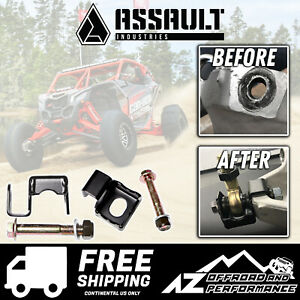 Assault Industries Radius Rod Double Shear Brackets 2017 2020 Can Am Maverick X3