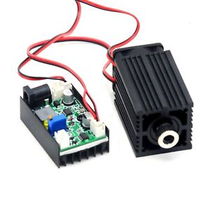 850nm 1w Infrared Ir 1000mw Focusable Dot Laser Diode Module Dc12v Fan Driver