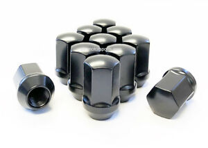 20 14x1 5 Dodge Charger Oem Stock Replacement Wheels Lug Nuts Black 7 8 Hex