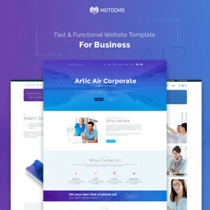 Business Website Template For Startup Website By Motocms Website Builder