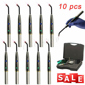 10pcs Dental Heal Laser Diode Rechargeable Hand held Pain Relief Device F luf