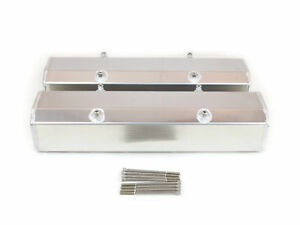 Canton 65 200 Valve Covers For Small Block Chevy Fabricated Aluminum W Hardware