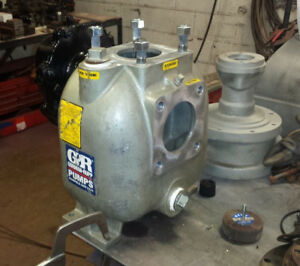 3x3 Gorman Rupp Self priming Centrifugal Pump With 1 3 5 Inducer