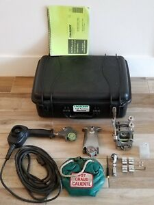 Mcelroy Model 1lc Fusion Welder Set Facer Heater Assemble Machine complete Set